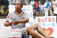 """为9岁白血病女孩募捐 郑州""""全城买水"""""""