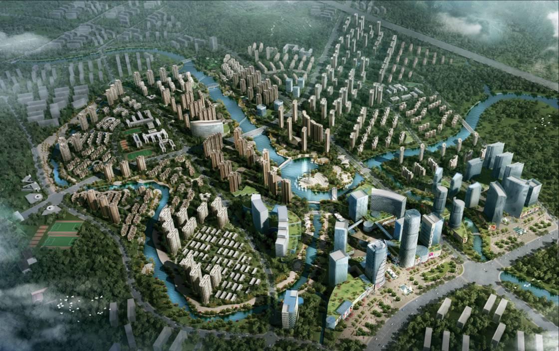 济南市历城区东部新城区 组图