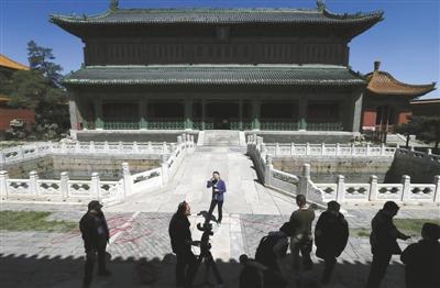 紫禁城文渊阁原状陈列开放 为清代最大皇家藏书楼