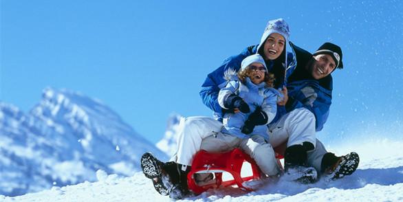 莲青山滑雪场是滕州市家