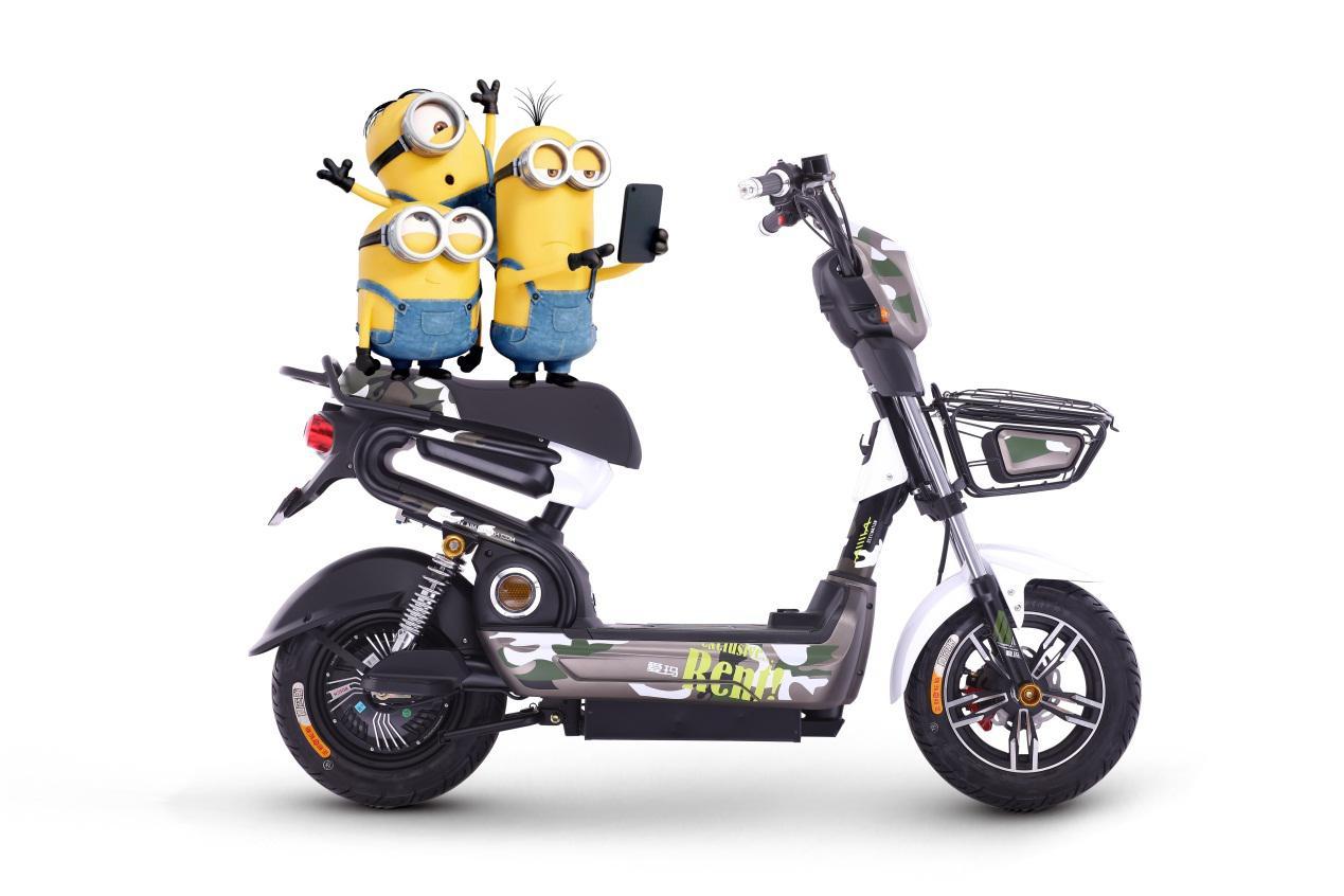 8款适合女生骑的电动车爱玛颜值萌化衣服心有哪些女生少女图片