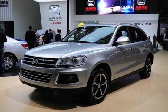 2014年将推两款新车 众泰T600年底上市