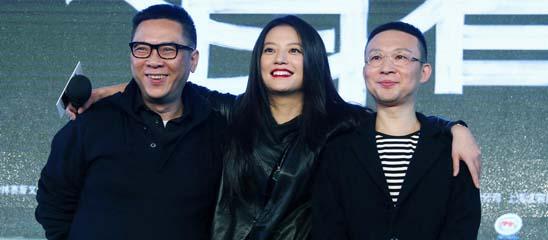《致青春》发布会 赵薇尽显导演范儿