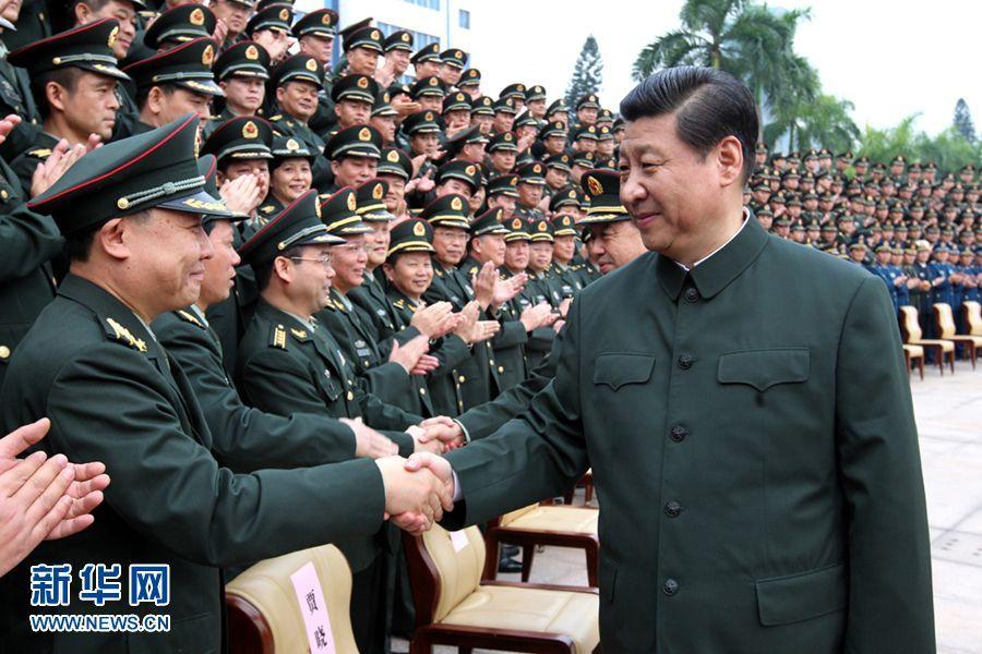 中共领导人戎装照2014.6.20 - fpdlgswmx - fpdlgswmx的博客