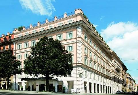 罗马/奢梦罗马——意大利罗马卓美亚Grand hotel via Veneto酒店