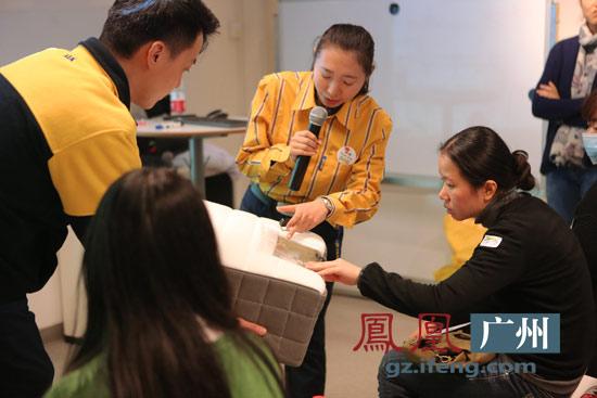 广州/宜家广州商场卧室家具部招小燕介绍床垫材质对健康影响