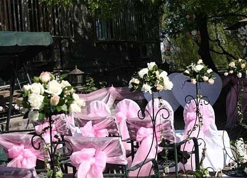 4中不同风格的户外婚礼