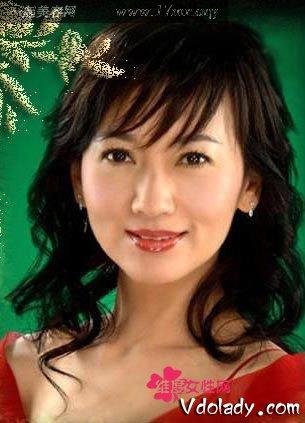 四十岁女人最适合的大全圆脸不要刘海扎发发型