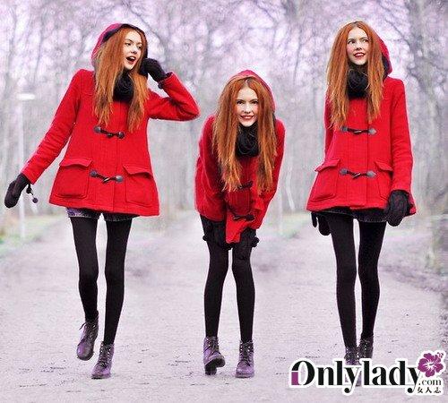瑞典森女冬季人气搭配