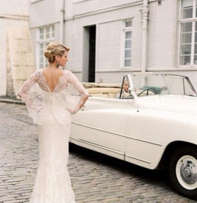 欧式大气性感的6款新娘婚纱