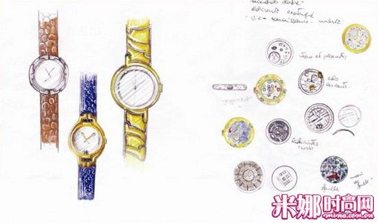 大牌珠宝设计手稿 大师笔下的奢华