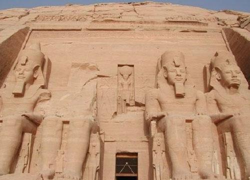 埃及第一神庙雕像群 阿布