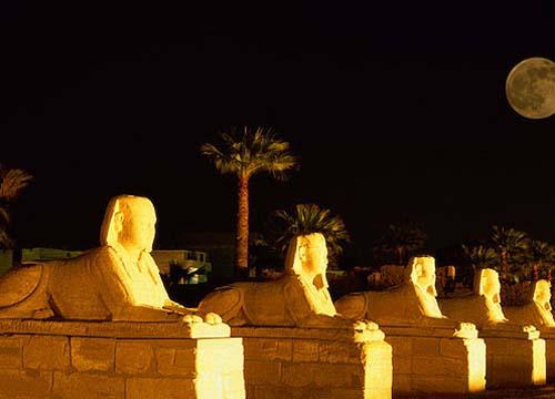 卢克索神庙 埃及的古老印记图片