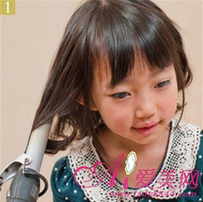 可爱小公主扎发 儿童萌主发型惹人爱