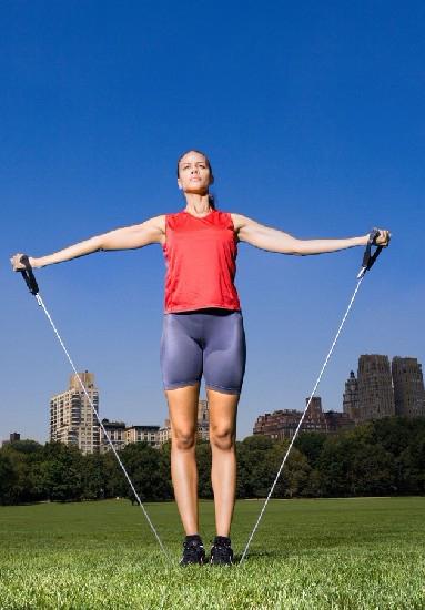 跳绳是一种非常有效的有氧运动.茯苓薏仁赤豆粥减肥么图片