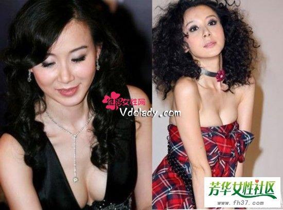 美容  台湾美女萧蔷日前在录节目《万秀猪王》时因为要表演一段国标舞