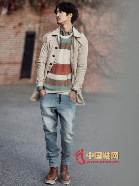男士牛仔裤搭配技巧 让你轻松变潮男(图)(图)