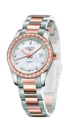 与康铂系列所有表款一样,这款腕表防水功能达5个大气压,螺旋式表背配图片