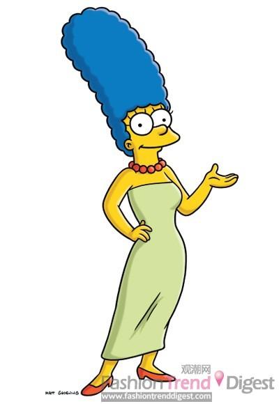 5. Marge Simpson, 《辛普森一家》