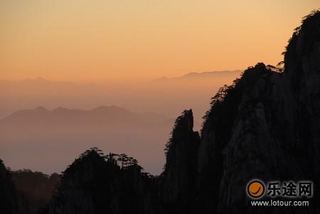 安徽黄山风景区