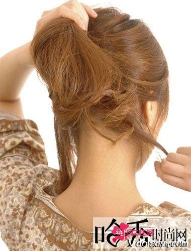 帮姐妹们塑造名媛气质的编发发型图片