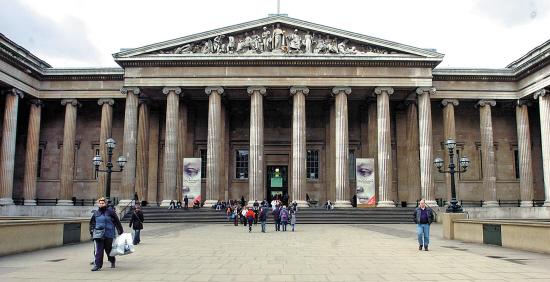 大英博物馆入口处