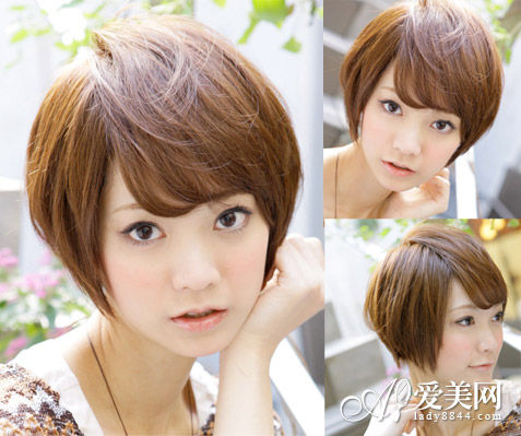 波波头短发发型图片 最in减龄造型