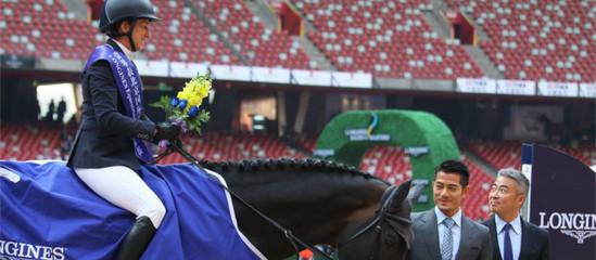 2013浪琴表北京国际马术大师赛冠军罗拉克劳特