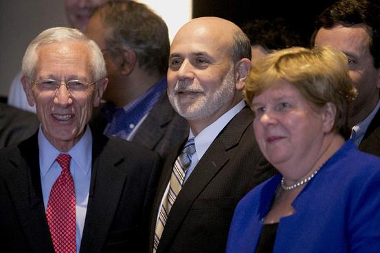 美联储, 伯南克, QE, Stanley Fischer, Janet Yellen