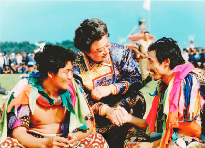 蒙古族/胡松华与蒙古族摔跤手