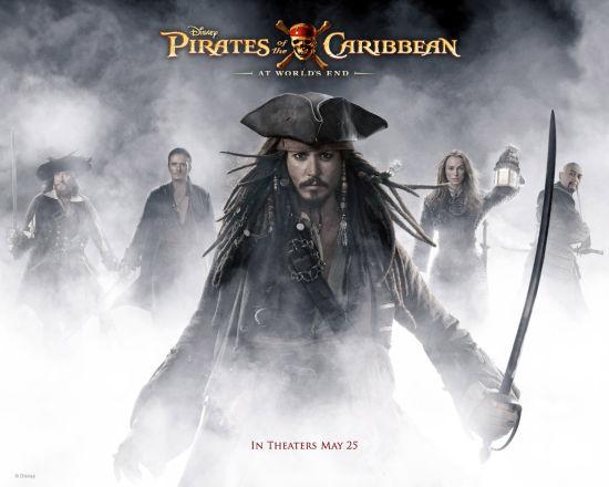 《加勒比海盗5》有望今秋开拍 德普将回归