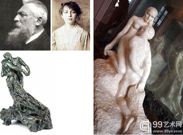 15.auguste rodin&camille claudel,罗丹&克罗黛尔   法国雕塑大师罗丹和其模特,同样是雕塑艺术家的克罗黛尔的爱情令人唏嘘.