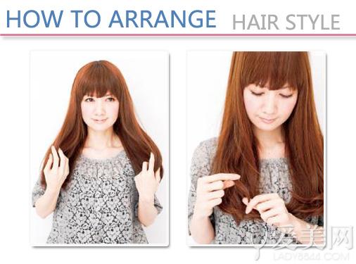 导语:想要摆脱呆板无造型感的发型,有的是办法,利用不同直径的卷发棒就是个不错的选择。直径越大,卷发效果就越为自然,相对来说波浪卷度也就越不明显,各位MM可以选择你所喜欢的卷度来学习如何打造蓬松自然的发型。