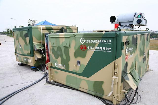 中国展示激光防空系统有效护卫空域12平方公里