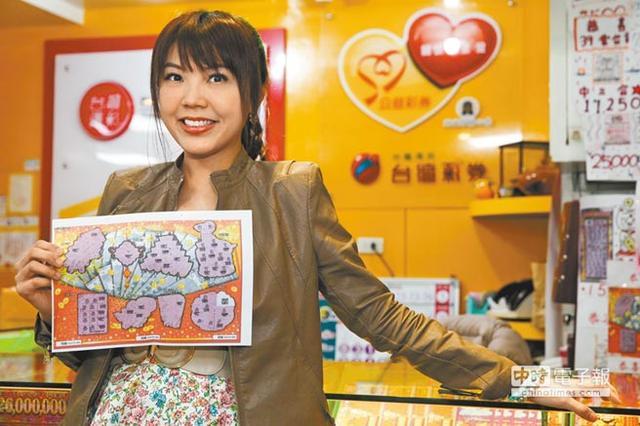 台女星刘乐妍刮奖中100万仍欠千万房贷需还