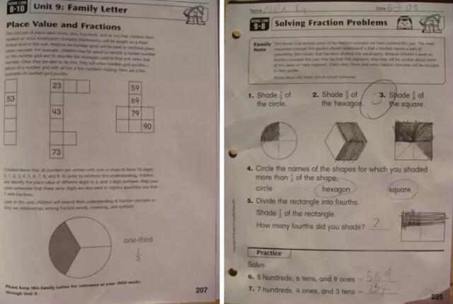 美国小学一年级这样学数学,你还觉得简单吗?