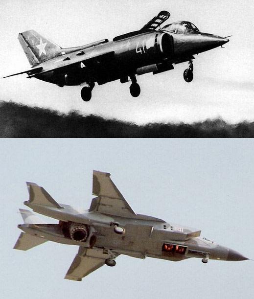 军事  上是苏联海军航空兵第一,也是唯一一服役的垂直起降战斗机雅克