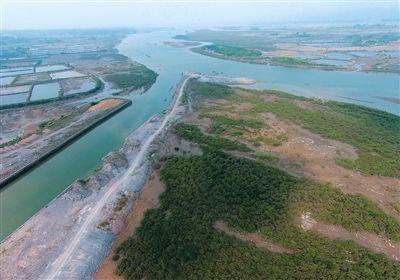 海上丝绸之路中的广西北海市合浦县海岸线过去风景优美,水产丰富