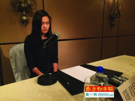 香港惊天绑架案女主昨日召开发布会报平安。