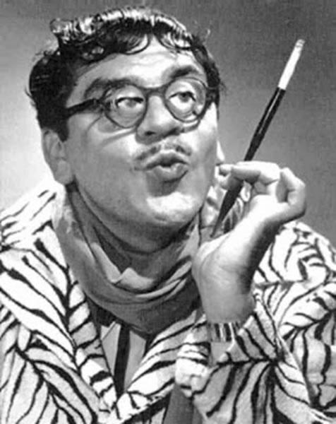 厄尼·科瓦奇的戏剧化造型追随20世纪50年代至60年代的超现实主义和达达主义
