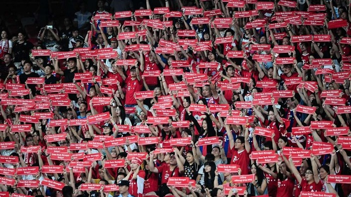 图片报:中国球迷为拜仁疯狂