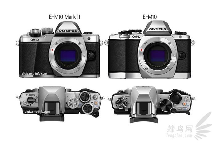 奥林巴斯E-M10 Mark II 疑似产品图泄露