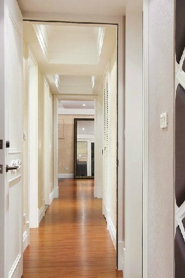 家居设计中无法忽视的简欧走廊吊顶装修|吊顶|效果图