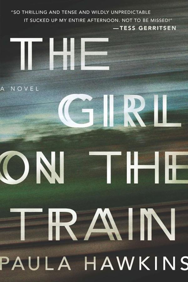 《火車上的女孩》:年度暢銷書,已銷售1000萬冊,力壓《五十度灰》
