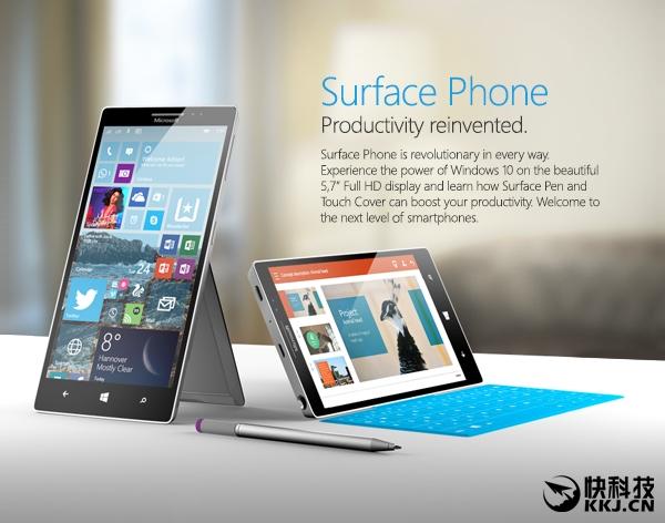 微软打鸡血!Surface Phone大曝光:一下三款