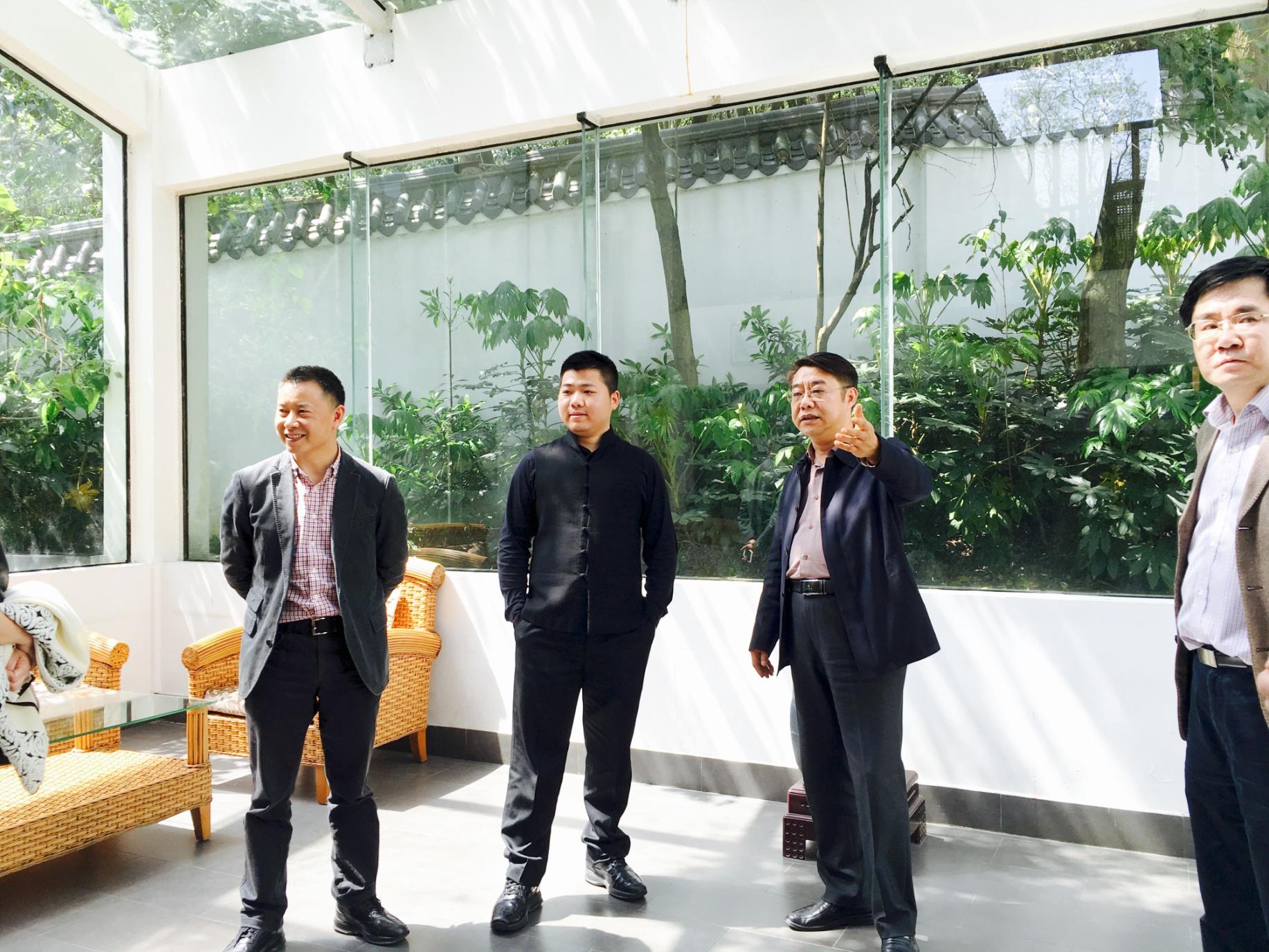 易玄先生访问贵州大学 贵州理工学院