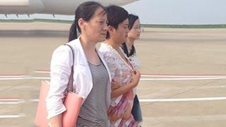 美女老板俞优静被押回国全程