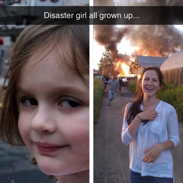 这姑娘长大了……