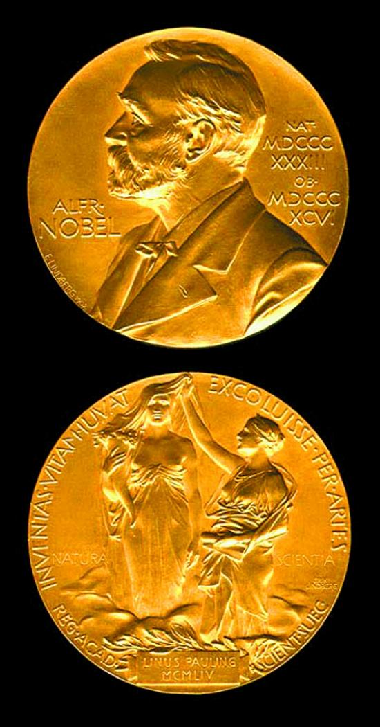 家弗朗西斯·克里克,莫里斯·威尔金斯共同摘取诺贝尔生理学或医学奖.