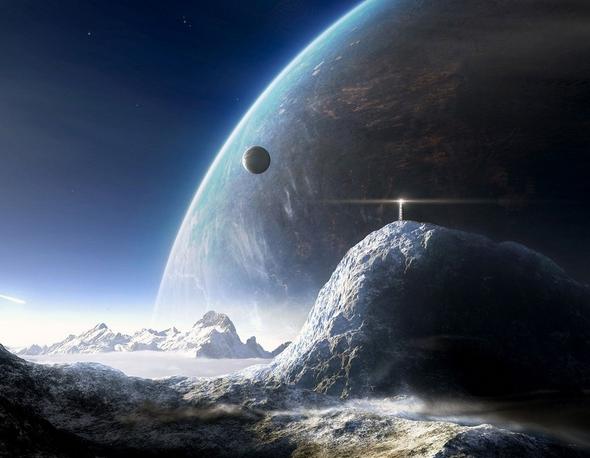 土卫二或存在生物迹象   对于宇宙中是否存在外星人一直在被很多科学